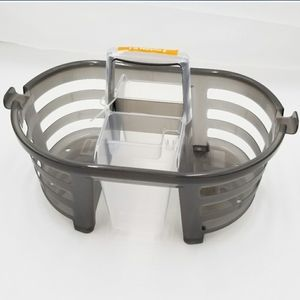 NWT 2-in-1 day & night Shower Caddy in Charcoal